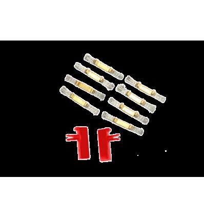 2 guías + 8 trencillas