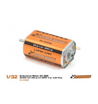 Motor SC-26  22000rpm  310 gr/cm  0.20Amp