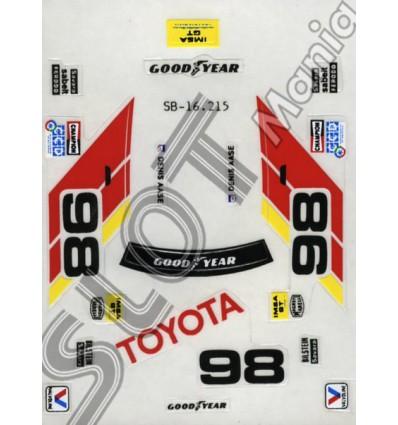"Adhesivos Toyota Celica ""Imsa"""