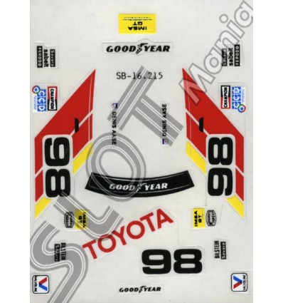 """Toyota Celica """"Imsa"""" (blanco)"""