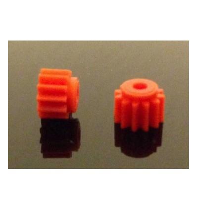 Piñón nylon 12 d. diámetro 7mm.