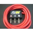 Cable silicona y conector compacto bananas para mando