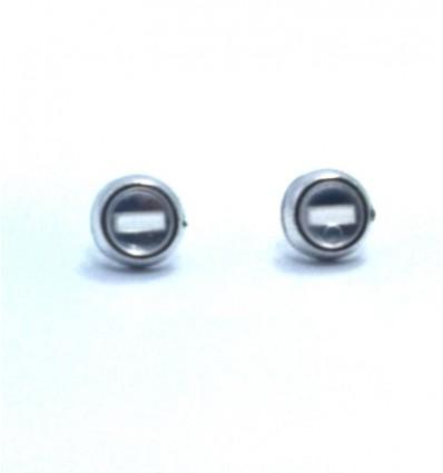 Headlights (pair)  chrome & clear