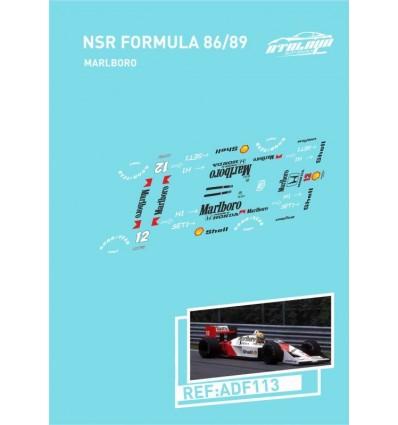 Calcas NSR Formula 86-89 Malboro