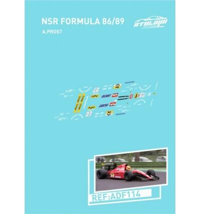 Calcas NSR Formula 86-89 A. Prost