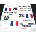 Renault 5 (France nº28) sticker
