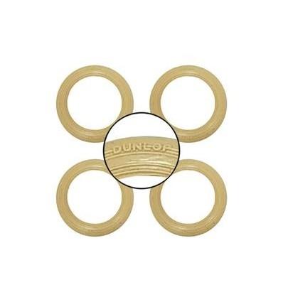 Juego neumáticos 'Dunlop' (crema)