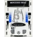 Adhesivo Mercedes Sauber SRS