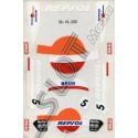 """Porsche SRS """"Repsol"""" sticker"""