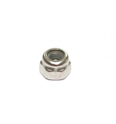 Tuercas M2 inox. autoblocantes llave 4mm (20u)