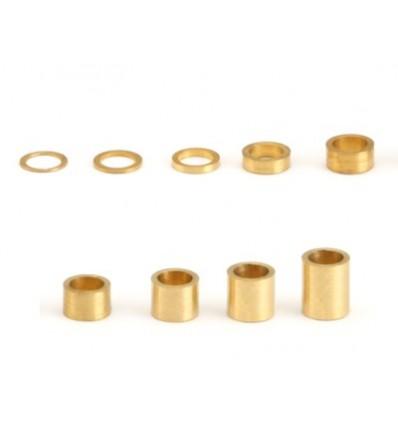 Separadores eje 1mm  eje 3/32 (10u)