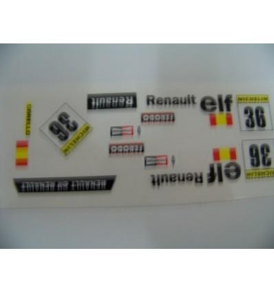 """Adhesivo """"Esp. nº36"""" Renault 5"""